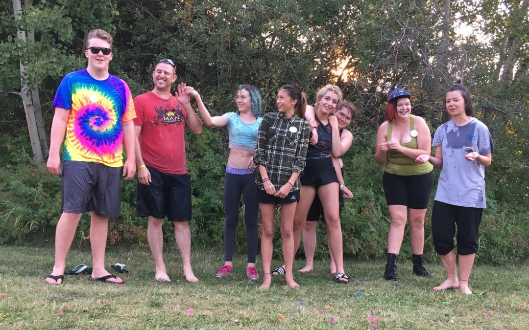 End of Summer Water Fight!