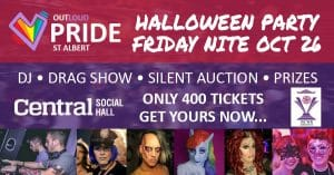 Outloud Pride 2018 Halloween Party