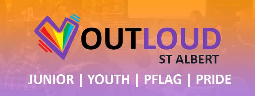 PFLAG St. Albert's Facebook page joining Outloud St. Albert!