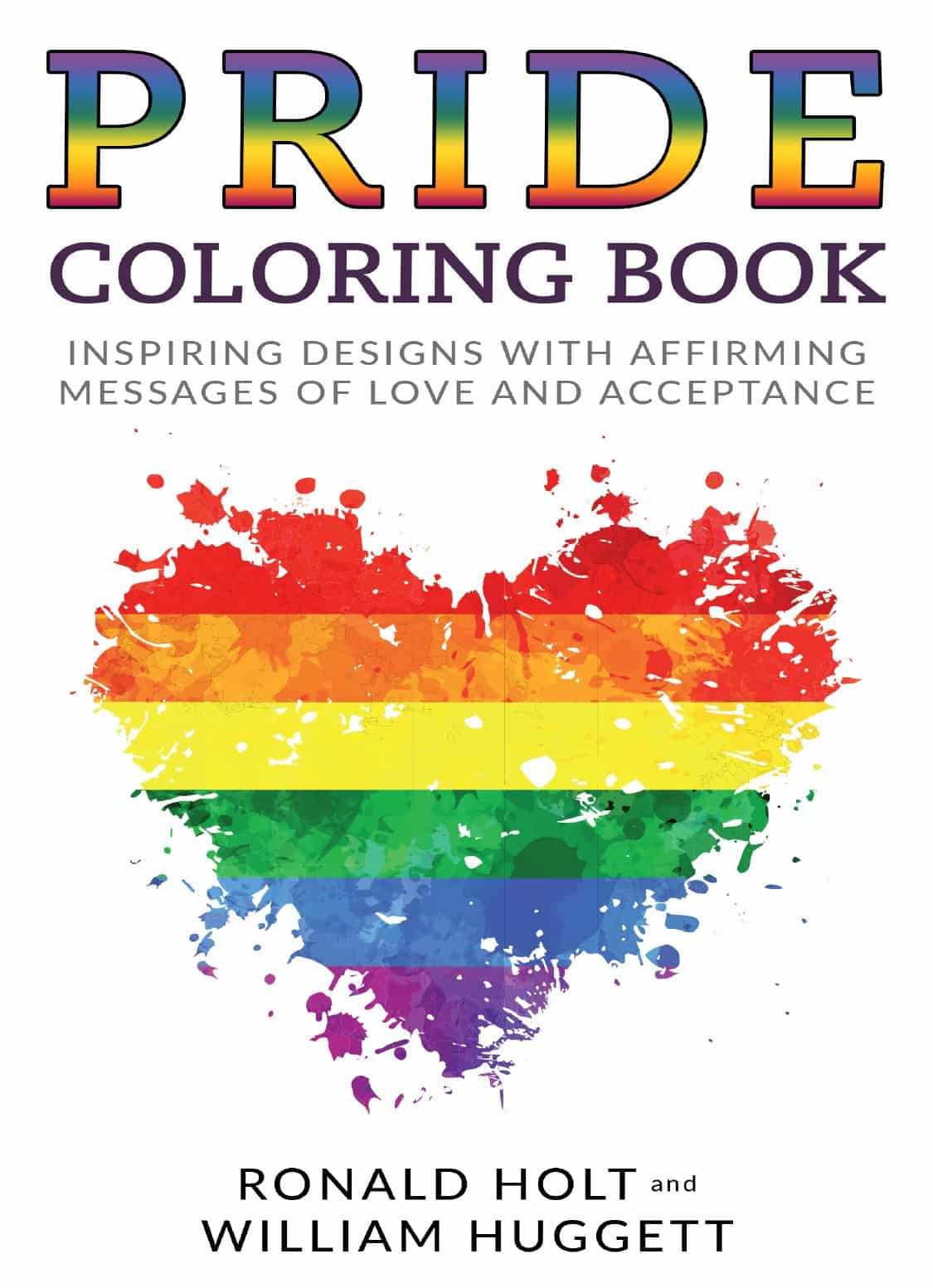 PRIDE COLORING BOOK